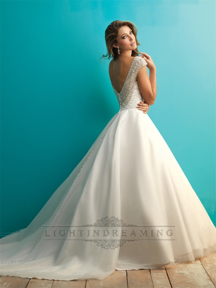 beaded-cap-sleeves-a-line-ball-gown-wedding-dress-with-scoop-back-1510091003-2